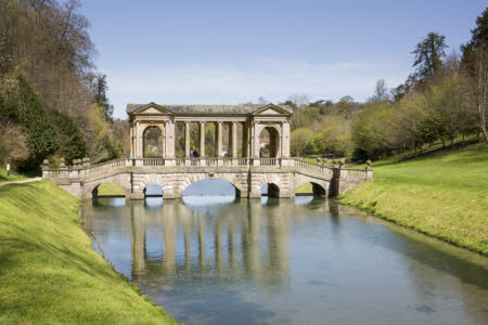 The Palladian Bridge at Prior Park, Bath
